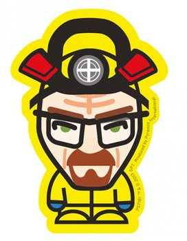 Breaking Bad - Heisenberg yellow Sticker