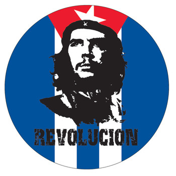 Sticker CHE GUEVARA - flag
