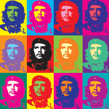 Sticker CHE GUEVARA - pop art