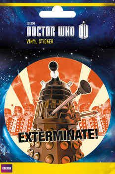 Doctor Who - Exterminate Sticker