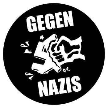 GEGEN NAZIS  Sticker