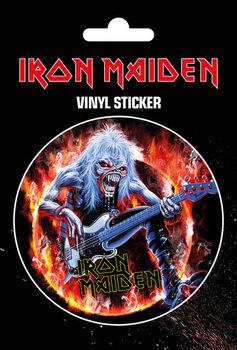 Iron Maiden - Fear Live Flames Sticker