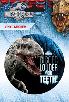 Jurassic World - More Teeth Sticker