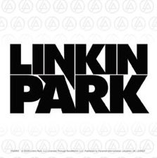 LINKIN PARK - logo Sticker
