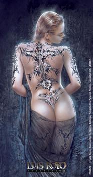 LUIS ROYO - la flor del dolor Sticker