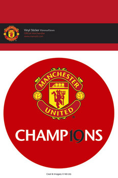 MAN UNITED - 19 titles Sticker