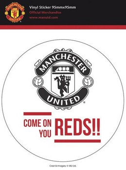 MAN UNITED – come on Sticker