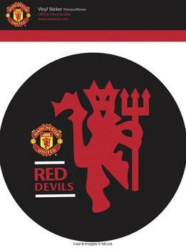 MAN UNITED - red devils Sticker