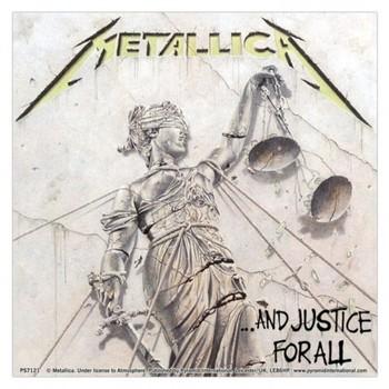 Sticker METALLICA - justice for all
