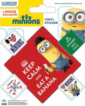 Minions - Keep Calm Sticker