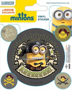 Minions - Pirates Sticker