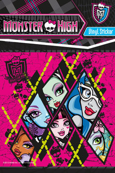Sticker MONSTER HIGH - group