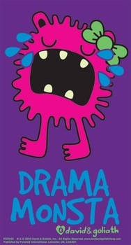 MONSTER MASH - drama monsta Sticker