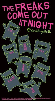 MONSTER MASH - freaks come out at night Sticker