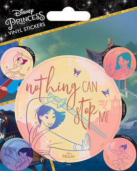 Mulan - Nothing Can Stop Me Sticker