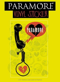 PARAMORE – phone Sticker
