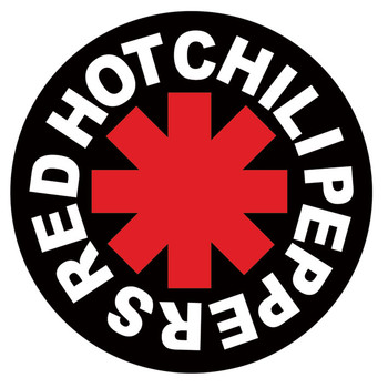 RED HOT CHILI PEPPERS - logo Sticker