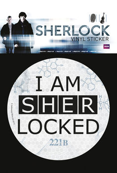 Sherlock - Sherlocked Sticker