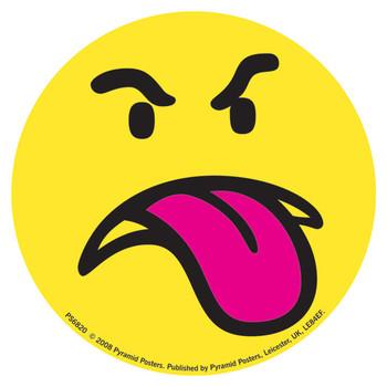 Sticker SMILEY - face raspberry