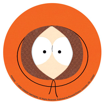 SOUTH PARK – kenny Sticker