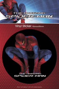 SPIDERMAN AMAZING - crouch. Sticker