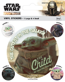 Star Wars: The Mandalorian - The Child Sticker
