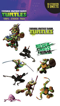 Sticker Teenage Mutant Ninja Turtles - Brothers