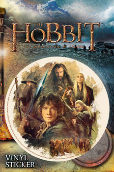 The Hobbit: The Desolation of Smaug - Collage Sticker