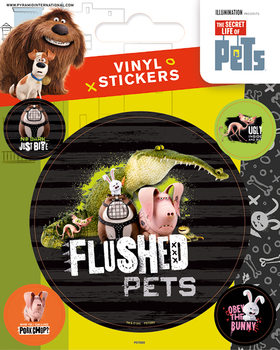Sticker The Secret Life of Pets - Flushed Pets