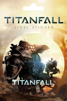 Titanfall - cover Sticker