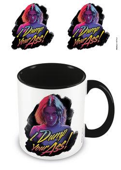 Mug Stranger Things - I Dump Your Ass Retro