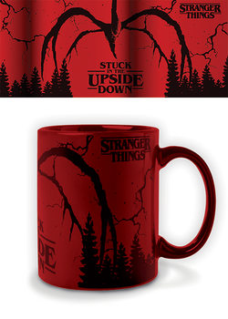 Caneca Stranger Things - Mind Flayer (Metallic)