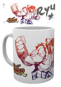 Mug Street Fighter - Ryu