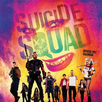 Calendar 2021 Suicide squad
