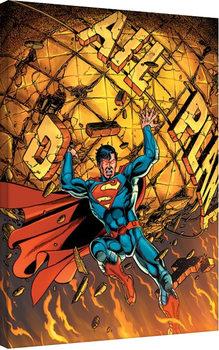 Superman - Daily Planet Canvas Print