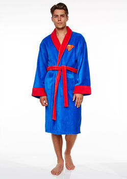bathrobe Superman