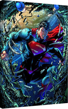 Superman - Unchained Canvas Print