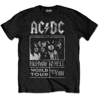 T-shirts  AC/DC -  Highway To Hell World Tour 1979/80