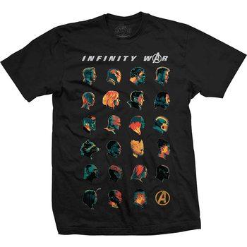 T-shirts Avengers - Infinity War Head Profiles