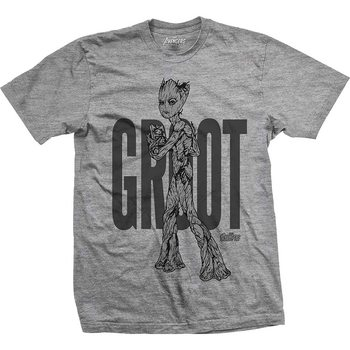 T-shirts  Avengers - Infinity War Teen Groot Line Art