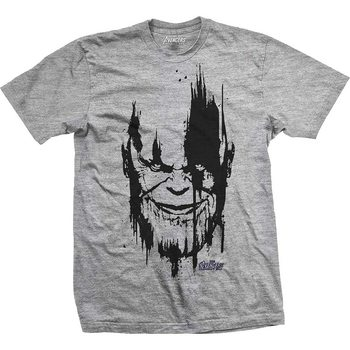 T-shirts  Avengers - Infinity War Thanos Head Black