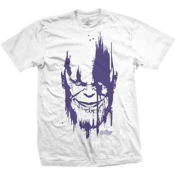 T-shirts  Avengers - Infinity War Thanos Head Purple