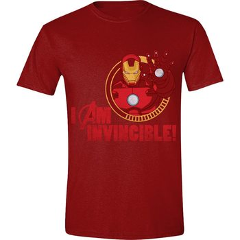 T-shirts  Avengers - Iron-Man I Am Invincible