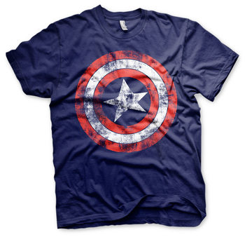 T-shirts  Captain America - Distressed Shield