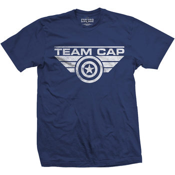 T-shirts Captain America - Team Cap Logo