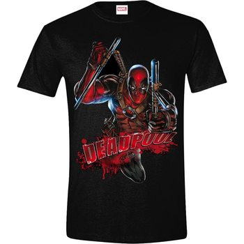 T-shirts Deadpool - Attack