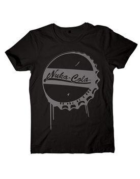 T-shirts Fall Out - Black Nuka-Cola