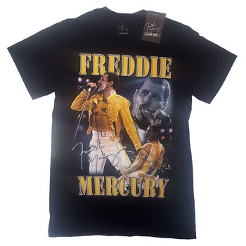 T-shirts Freddie Mercury - Live