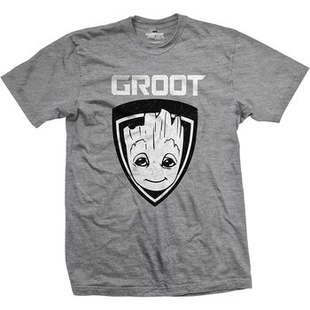 T-shirts  Guardians Of The Galaxy - Groot Shield