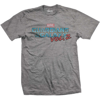 T-shirts  Guardians Of The Galaxy - Vtge Colour Logo